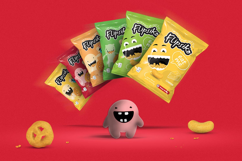 FLIPSIKO - Branding and Packaging Design