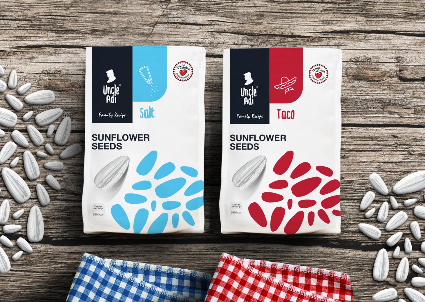 UNCLE ADI - Branding and Packaging Design