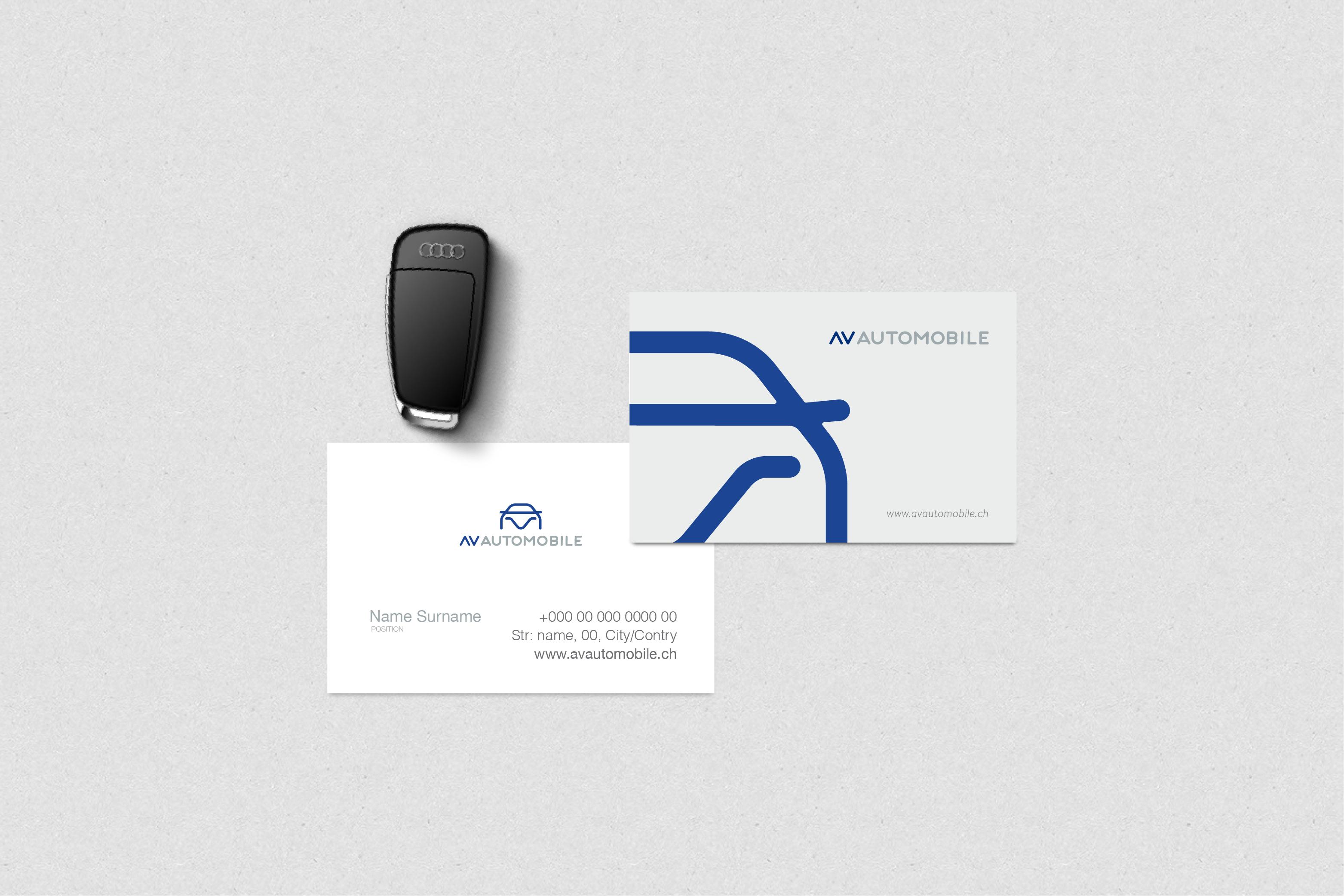 AV AUTOMOBILE - Branding
