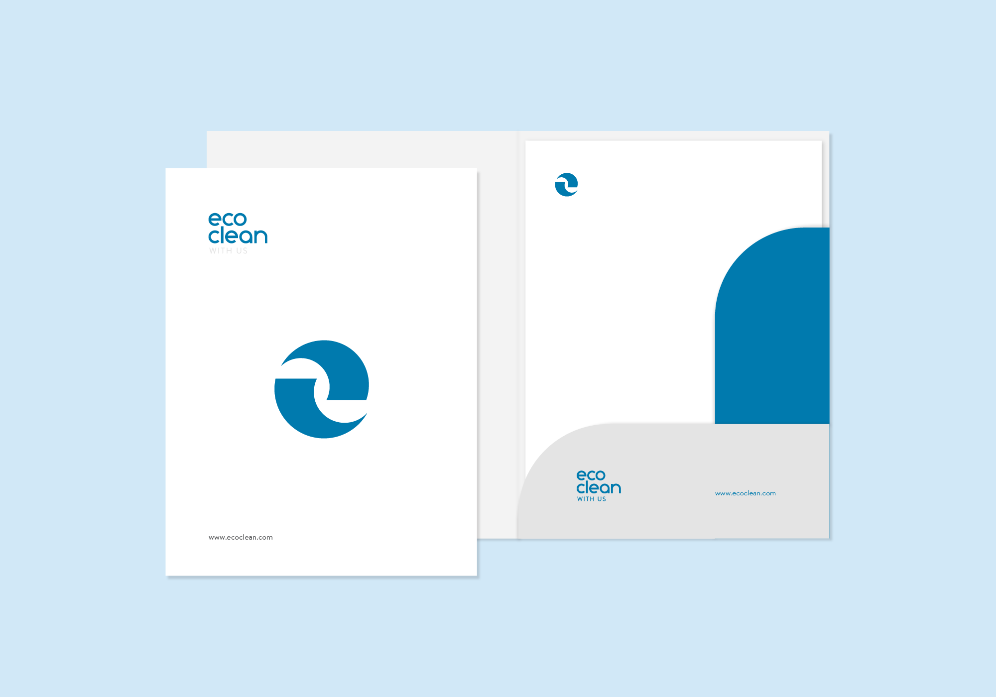 eco clean - Visual Branding